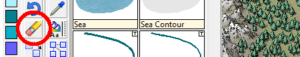 """Figure 1. The """"Erase"""" tool is found among the """"Edit"""" buttons."""