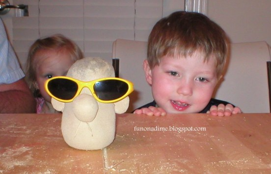 Home Made Chia Pet - Chia Head 4