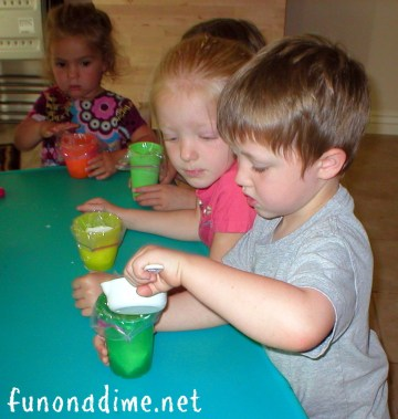 Homemade Ice Cream children can make