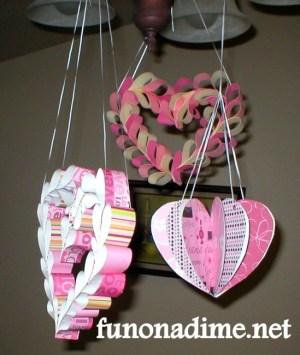 Valentine's Paper Decoration 1