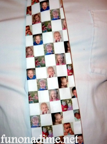 Homemade Father's Day Tie
