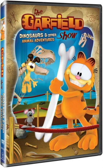 {Movie Review & Giveaway} The Garfield Show: Dinosaurs and Other Animal Adventures