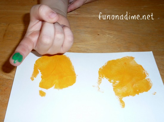 Handprint Crafts for kids