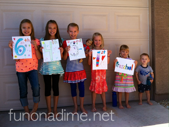 Homeschooling success with a large family start to homeschooling year