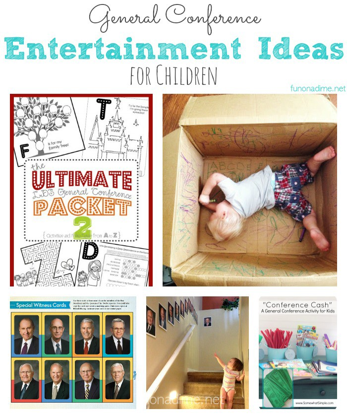 general conference entertainment ideas for children ... free printable for kids, busy activities and more