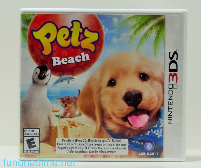 3ds petz beach