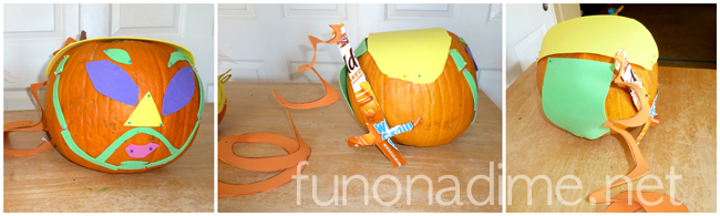 Pumpkin carving alternatives