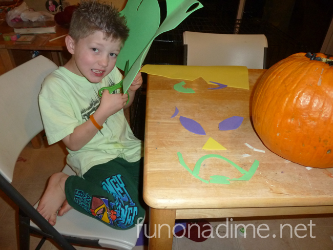 Unique pumpkin decorating