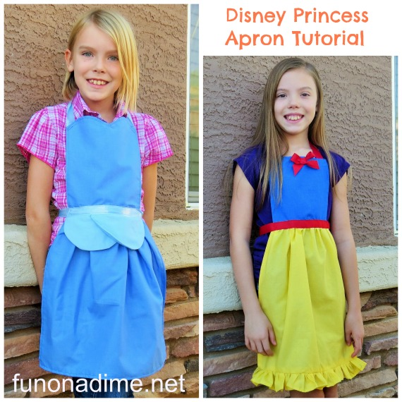 Princess Aprons {Handmade Gifts}
