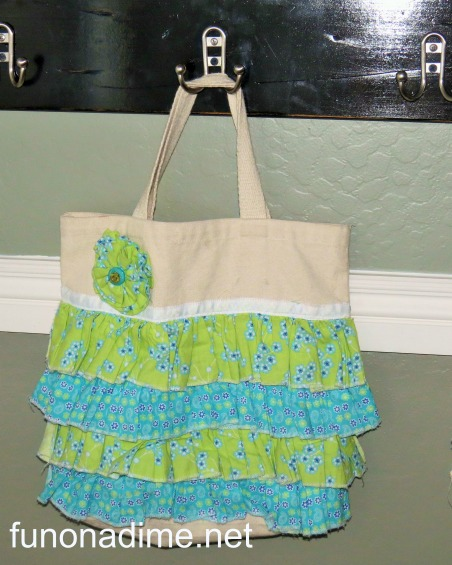 How to make a ruffle bag