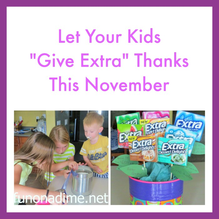 Give Extra Thanks
