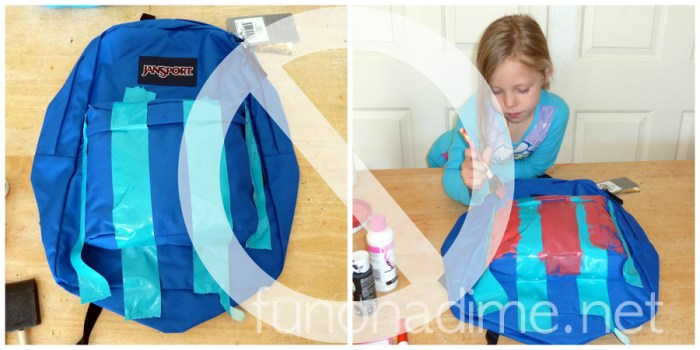 Super Hero Backpack tutorial - Do not do