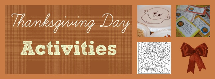 thanksgiving day activities header