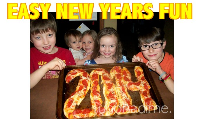 New Years Pizza – Keeping it Simple!