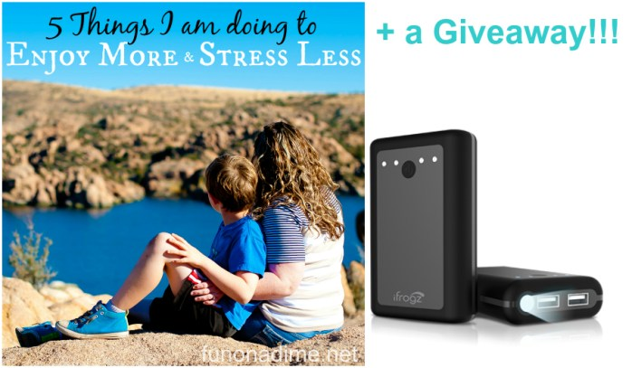 5 Things I Am Doing to Enjoy More and Stress Less This Season + a Giveaway!!!