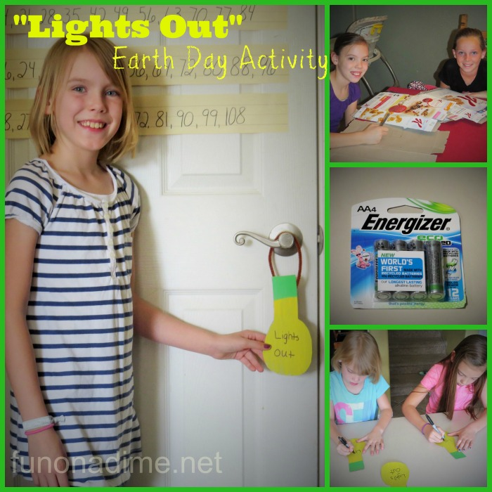 Lights out Earth Day activity #BringingInnovation #Ad @Walmart