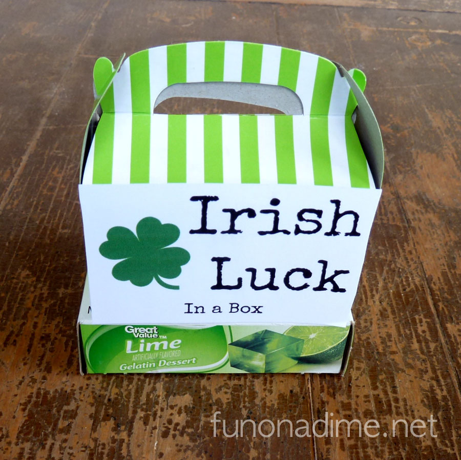 St. Patrick's Day Irish Luck Kits