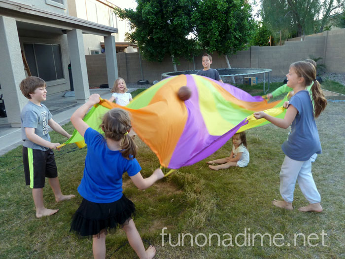 10 Parachute and Tunnel Games for the Whole Family {$50 GIVEAWAY}