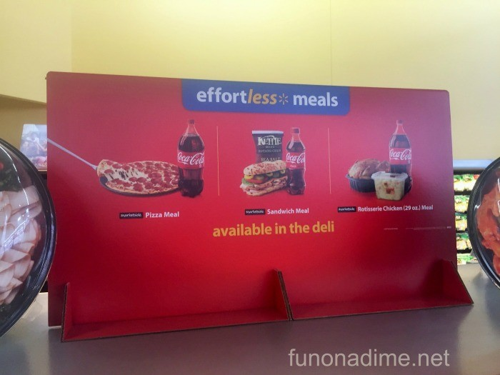 effortless meals walmart