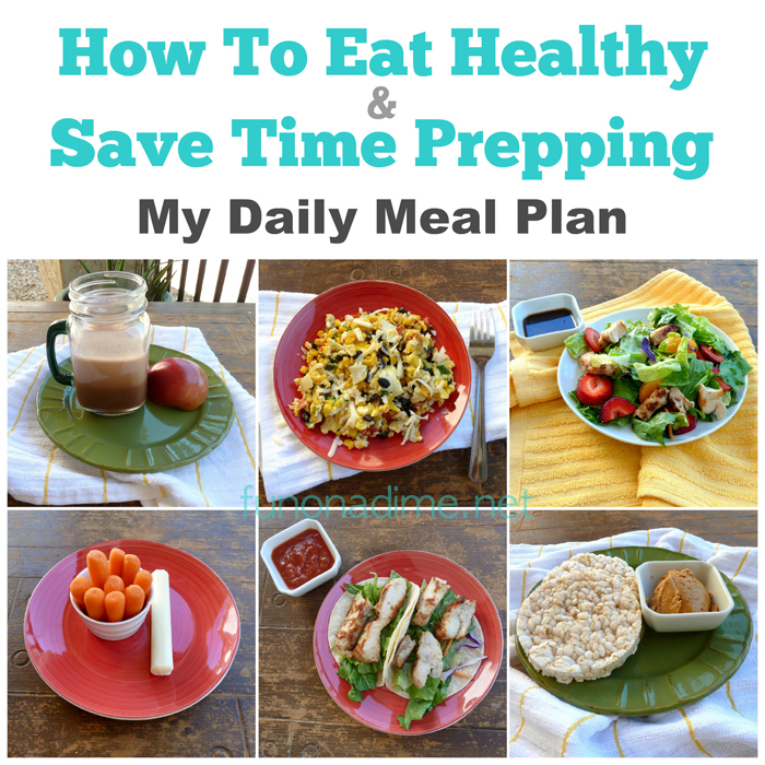 How To Eat Healthy and Save Time Prepping