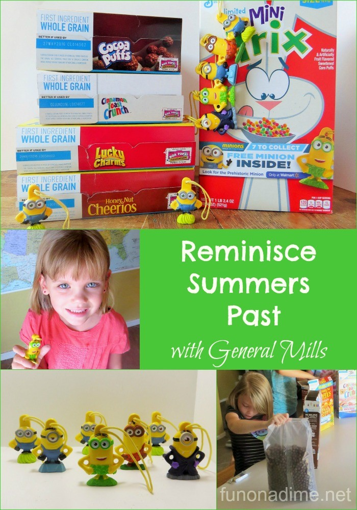 Reminisce Summers Past with General Mills #The7thMinion #Ad