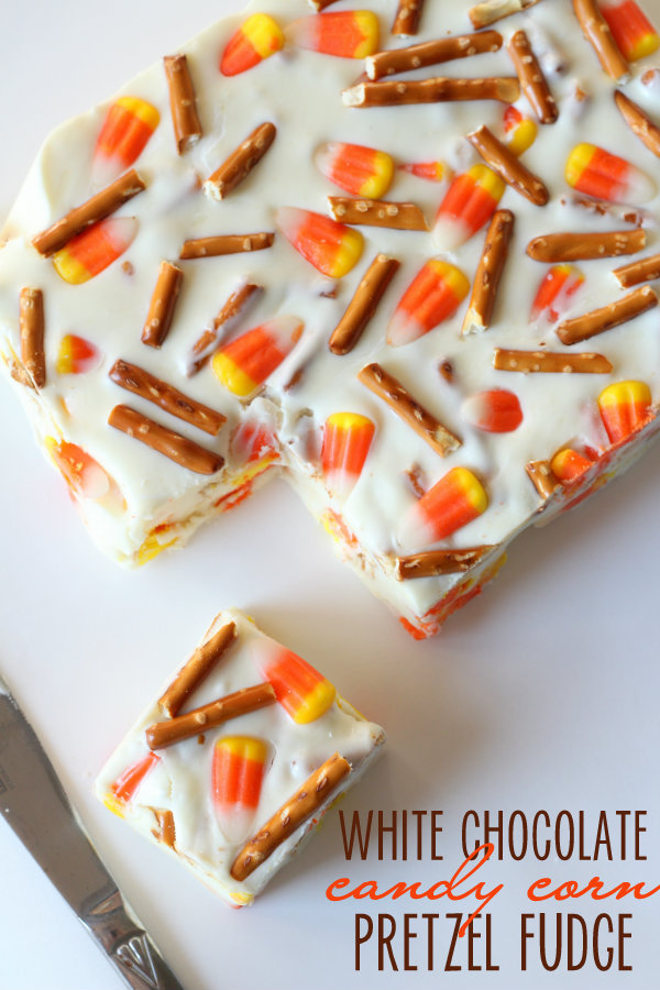 50+ Candy Corn Halloween Inspired Treats and Snacks - Fudge