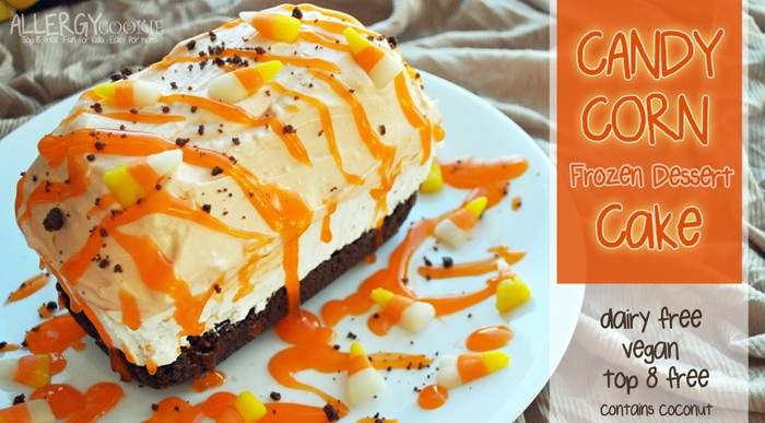 50+ Candy Corn Halloween Inspired Treats and Snacks - cake dairy free