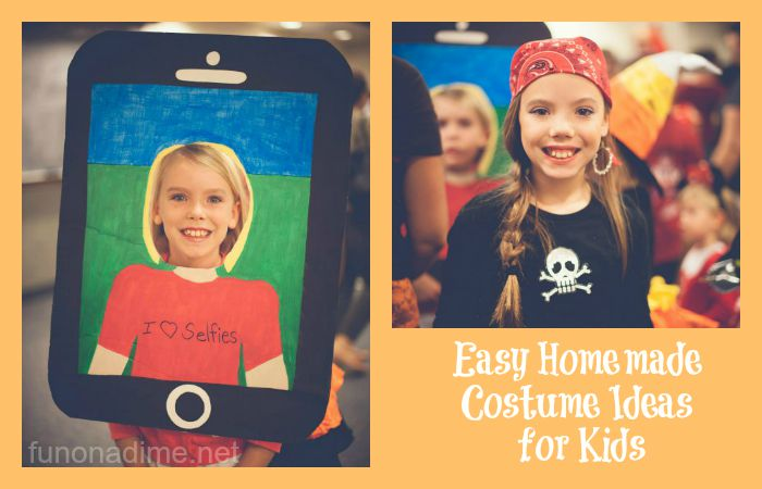 EASY Homemade Costume Ideas for KIDS