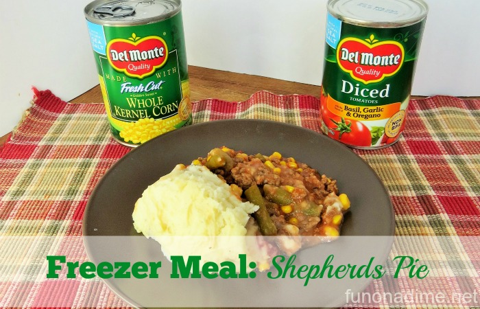 Freezer Meal: Shepherds Pie