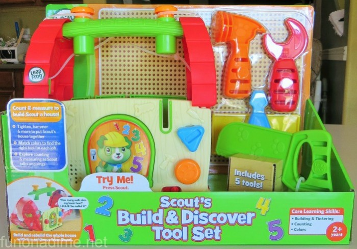 Scouts build and discover tool set