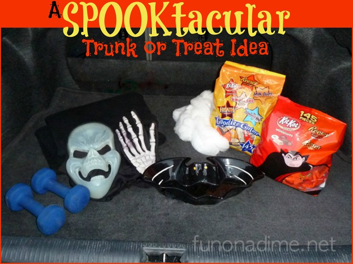a spooktacular trunk or treat idea