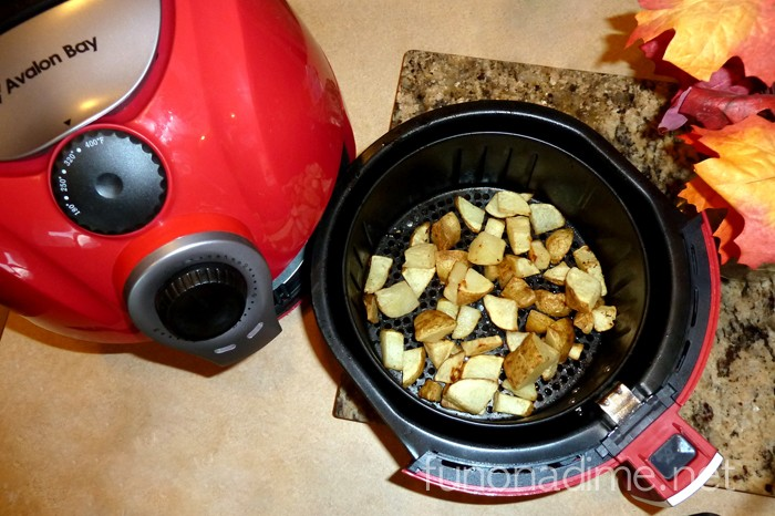 Air Fried potatoes - All the awesomeness of fried food without the extra unhealthy calories