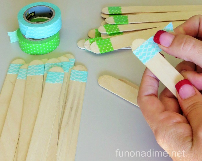 Popsicle Stick Date Night Jar