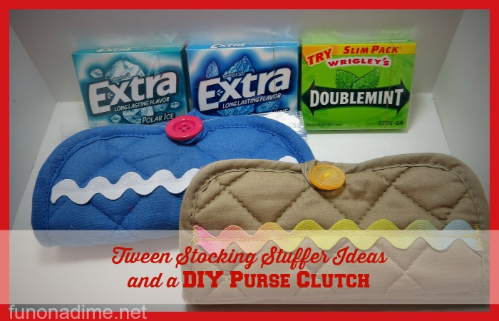 Tween Stocking Stuffer Ideas and a DIY Purse Clutch