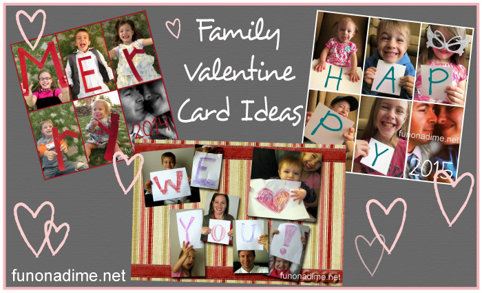Quick and Easy Valentine's Cards (for those of us who missed the chance at Christmas)