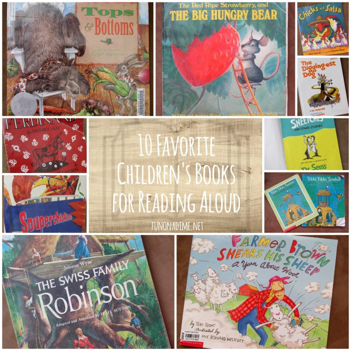 10 Favorite Children's Books to Read Aloud