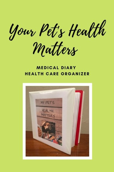 Keep track of your pets health care needs