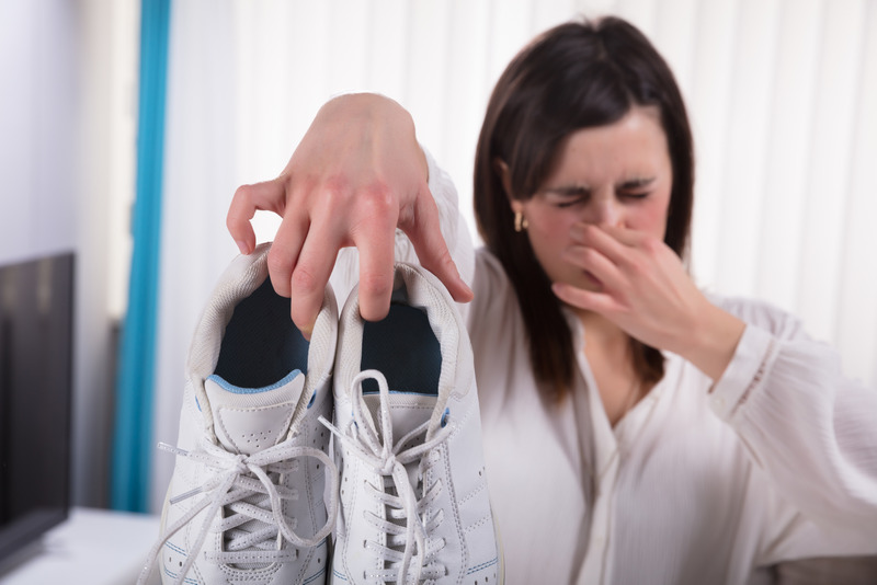 STOP Stinky Foot Odor in its Tracks!