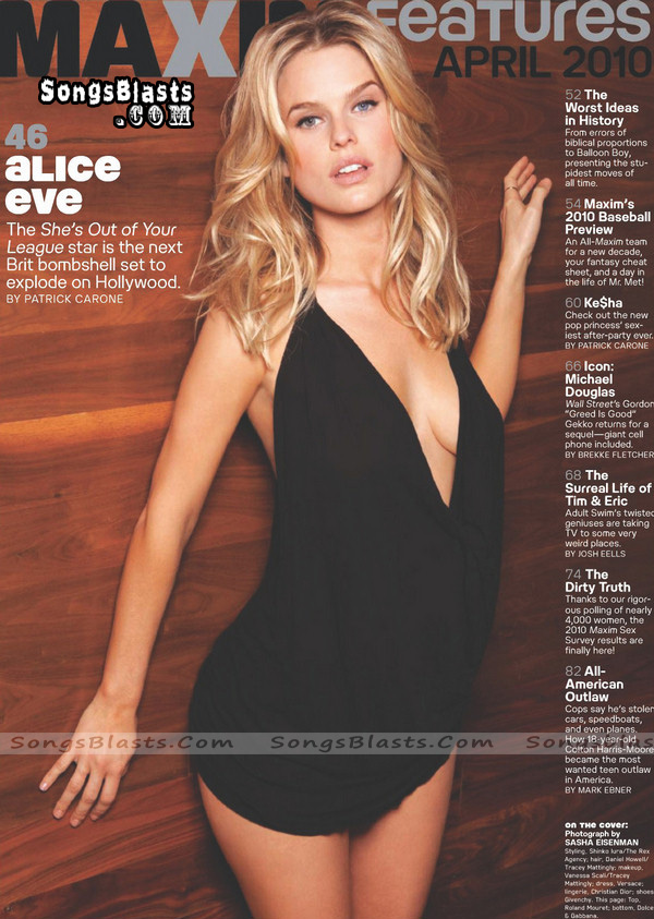 Alice Eve Maxim US April 2010 SongsBlastsCom 04