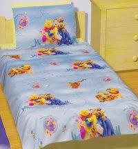 Winnie the Pooh Quilt Doona Duvet Cover Set Disney Bedding ...