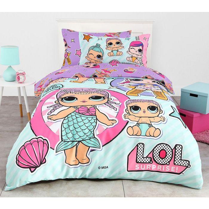 lol surprise quilt cover set