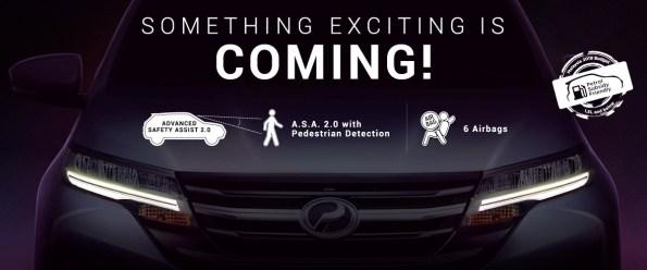 Iklan acah @ teaser SUV Perodua - 2a