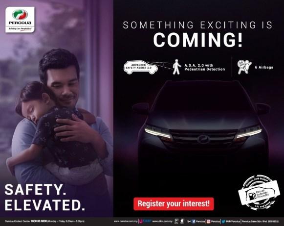 Iklan acah @ teaser SUV Perodua - 2b