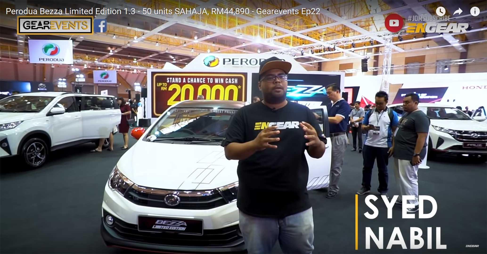 MESTI TONTON : Gearevents - Perodua Bezza Limited Edition ...