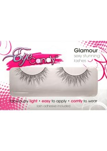 STRETCH LIMO- CRISS-CROSS GLITTER LASHES