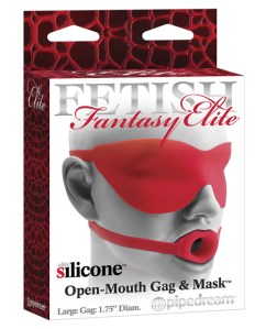 ball gag & mask