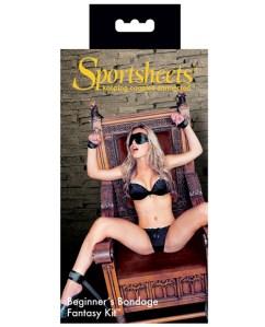 Sportsheets Beginner's Bondage Kit