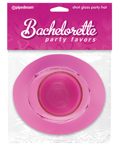 Bachelorette Party Favors Shot Glass Party Hat w/Removable Shot Glass