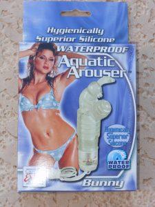Aquatic arouser waterproof bunny
