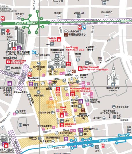 觀光公社逛街地圖